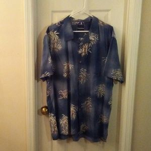 Tommy Bahama Men Hawaiian Shirt XXL